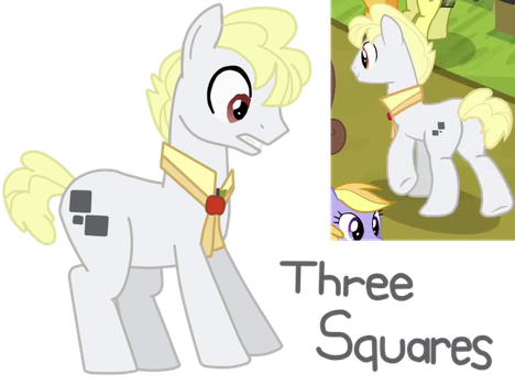 MLP Fan Name #1: Three Squares by CubaSandwichPL