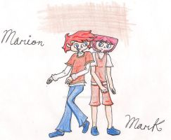 Marion and Mark unfinished 1 by YemiProtector