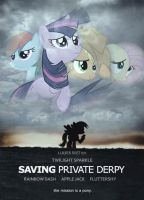 Saving Private Derpy by dan232323