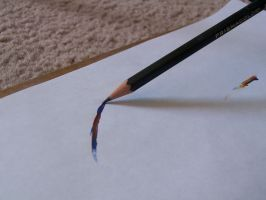 HB pencil and Multicolored mark 2 by Dragonetti707