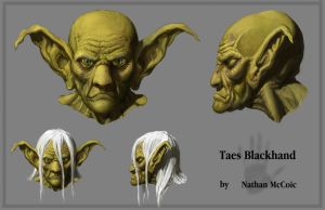 Taes Blackhand head orthos by Ruthac-Arus