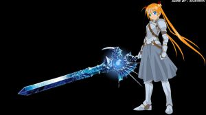 Asuna Calibur by shaoron