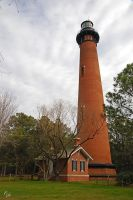 Currituck Beach Lighthouse by E-Davila-Photography