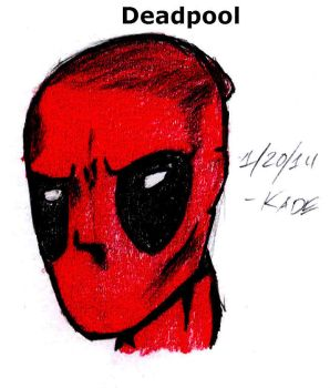 20 - Deadpool by K-A-D-E
