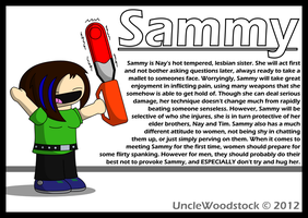 TXD: Sammy Character Card by UncleWoodstock