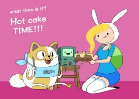 adventure time Fiona Cake BMO by carumbell