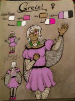 Gretel Human Reference Sheet by TheDragonInTheCenter