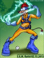 DWD - :The Electrifying Megavolt!: by StephRatte