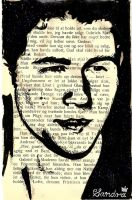 Nick Jonas in a book by ludvigsen