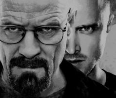 Breaking Bad Paint By Number Art Kit by numberedart