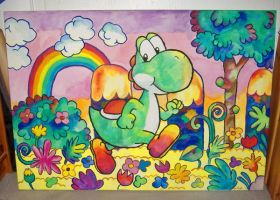 Yoshi by MissNeens
