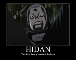 Hidan Motivational Poster by spades-ryou