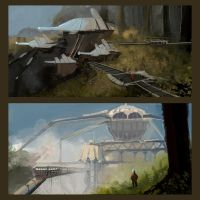 Mining Facility Concepts 1 by parkurtommo