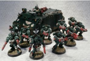 5th Tactical Squad, 4th Company, 1st Legion by Elmo9141