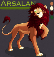 Arsalan by TheShadowedGrim