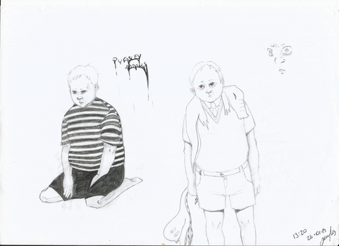 Pugsley Addams - The Addams Family by j-j-joker90