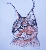Portrait of a Lynx by artifexToils