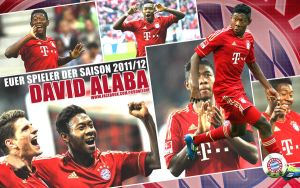 David Alaba Wallpaper #2 - FCB by roXx81