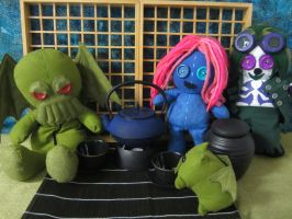 Cthulhu for tea by Rei2jewels