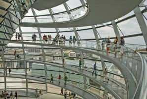The Reichstag dome by Mario666x