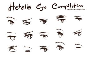 Hetalia eye compilation by ARCEL-16