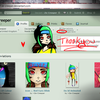 Thankyou For The Views 1500 by Ze-Creeper