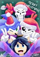 .: MERRY CHRISTMAS GUYS! :. by ZKCats111