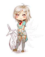 . 017 - Chibi Elenor . by Amelion