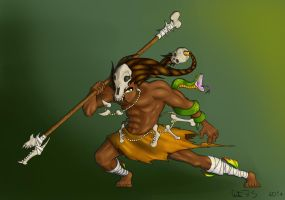 Jungle Warrior by Arturbs