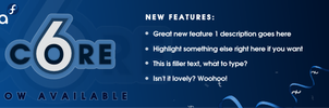 Fedora Core 6 Release Banner by pookstar