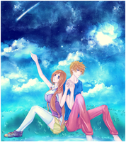 IchiHime: Under the Stars by Iwonn