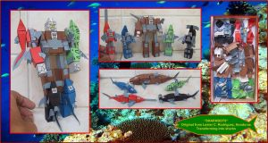 THE-FURIOUS-SHARKBOTS-MADE-IN-CARDBOARD by Paperman2010