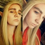 Thranduil makeuptest by Aku-Soku-San