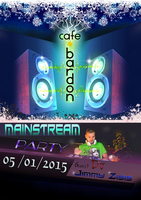 mainstream party poster by dimitrisax