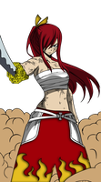 Erza Fairy Tail 315 by codzocker00