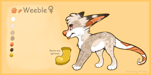 Weeble Reference sheet 2014 by Okoe