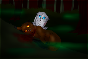 Warrior Cats | Antpelts Death by xXThatEpicDrawerXx