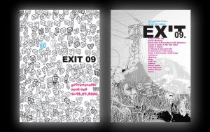 Exit posters by Kozlovacki