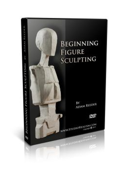 Beginning Figure Sculpting DVD by AdamReederSculptor