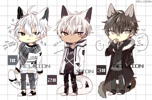 [AUCTION*CLOSED]Lineheart*32 by Relxion-kun