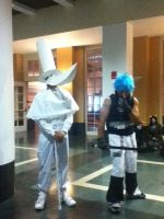 Anime Boston 2013: Excalibur and Black Star by 4DAMANT