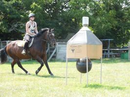 Ozzy and me cantering by WistfulDesigns