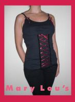 Corset Top by Here-is-MaryLou