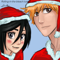 Bleach Christmas by Akadafeathers