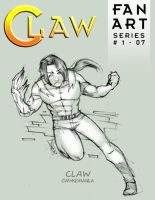 CLAW FanArt No 07 by Mykemanila