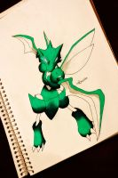 Scyther by NChicaGFX