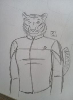 Tiger Dave - Sketch by RecycledSushi