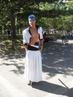 Grimmjow Cosplay AE 2010 by KingGrimm6