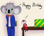 SING - Buster and Mike (Birthday gift) by Waver-Ring