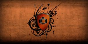 Orange Shield by zarengo